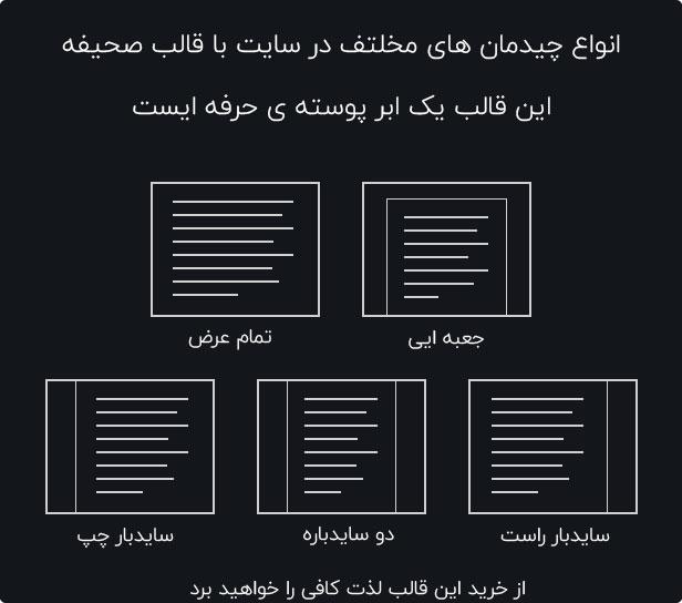 قالب صحیفه نسخه آخر