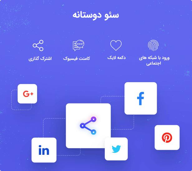 شبکه های اجتماعی قالب